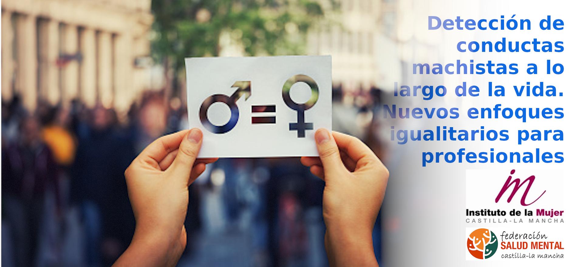 Detección de conductas machistas a lo largo de la vida para profesionales. Nuevos enfoques igualitarios para profesionales.